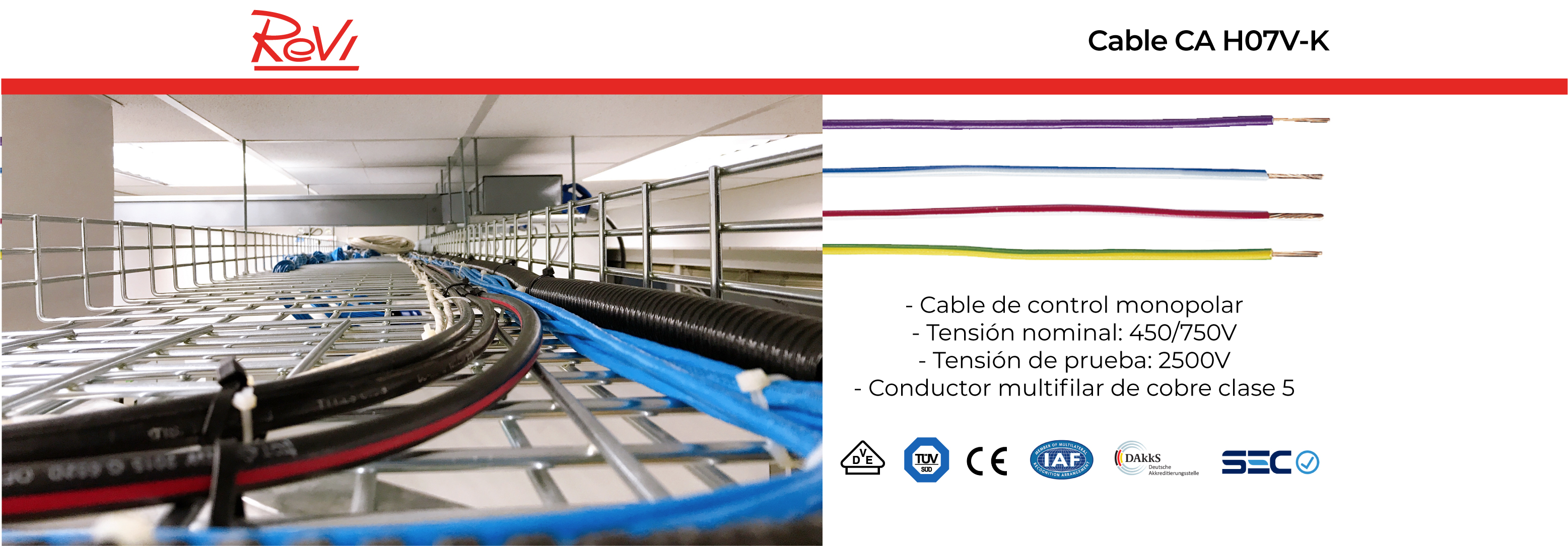 Cable CA H07V-K