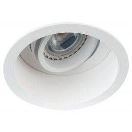Foco embutido QUALE-OP retríado basculante blanco base/GU10 (lamp. no incluida)