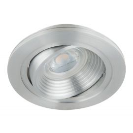 Foco embutido QUALE-RB basculante aluminio base/GU10 (lamp. no incluida)