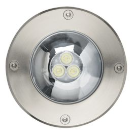 Foco LED embutido a piso INGROUND 3LED 6.5W 3000K