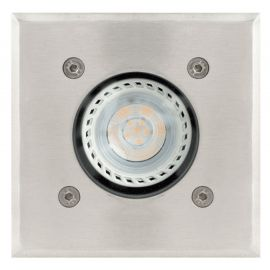 Foco embutido a piso INGROUND GU10 SQUARE base/GU10 (lamp. no incluida)