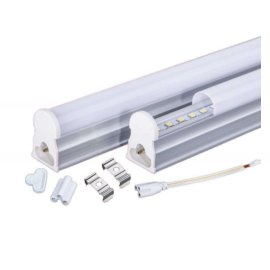 Luminaria lineal LED tipo tubo T8 BATTEN LED 8W 3000K 600mm (accesorios incluidos)