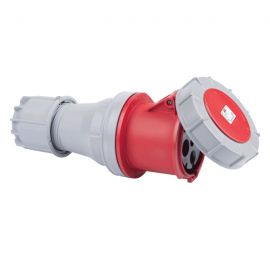Enchufe industrial hembra volante 3P+T 63A 400V IP67