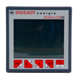 Analizador de Red LCD Panel 96x96 DUCA LCD96 485 230Vac