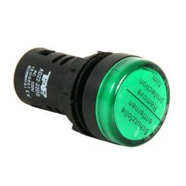Piloto LED 22mm Verde 220V