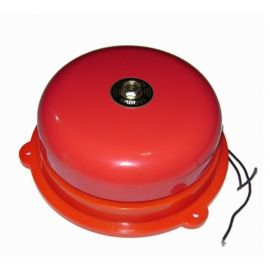 Campana Industrial 220V Rojo 300mm