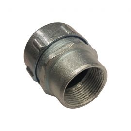 CONECTOR TUBERIA RMC A FLEXIBLE METALICO 40mm