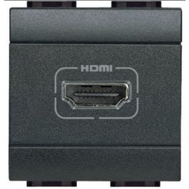CONECTOR HDMI ANTRACITA L4284 LIVING LIGHT