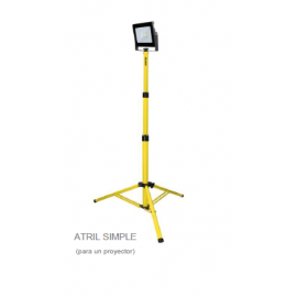 SOPORTE ATRIL SIMPLE PARA PROYECTOR LED 600x600x1800mm