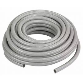 Tubo flexible metálico con PVC 25mm GRIS  IEC 61386-23 4322  (R-25 MT)