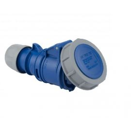ENCHUFE INDUSTRIAL HEMBRA VOLANTE 2P+T 32A 230V IP67