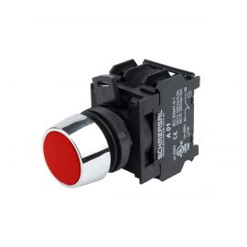 PILOTO LED RASANTE ROJO 22mm 220Vca NV222 BLOCK DESMONTABLE